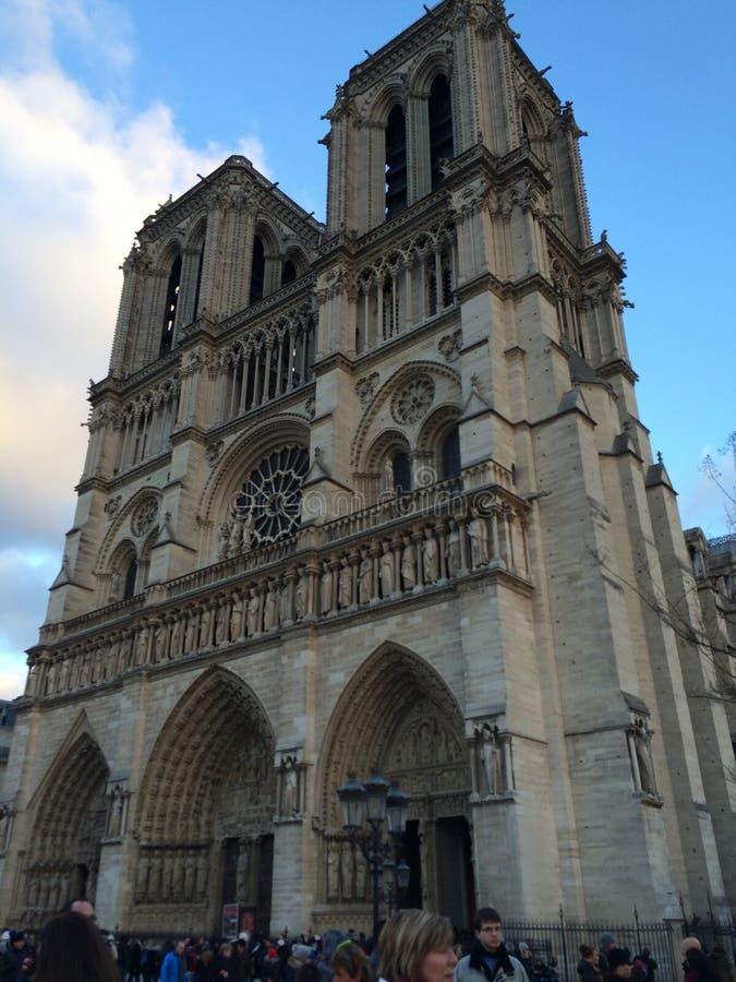 Notre Dame de Paris image stock