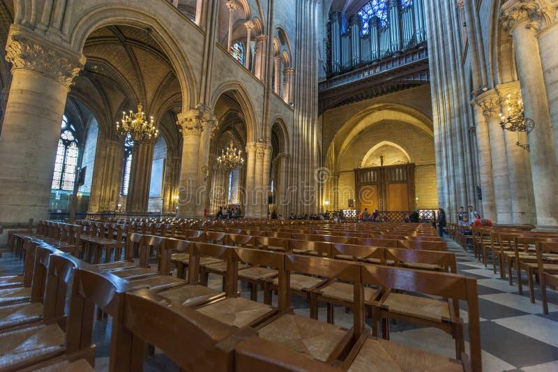 Notre Dame de Paris stock foto