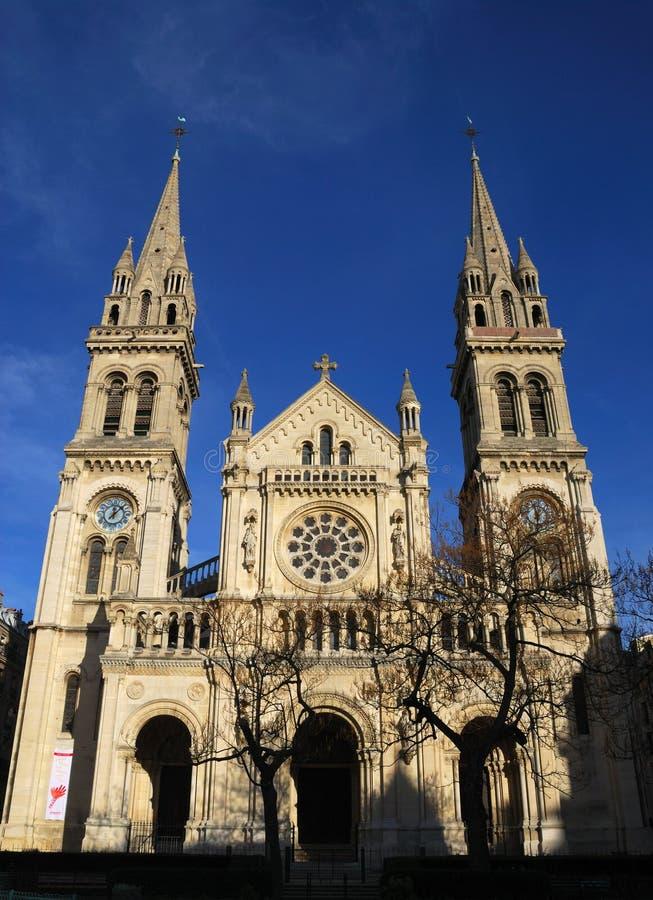 Notre Dame de Paris fotografia de stock royalty free