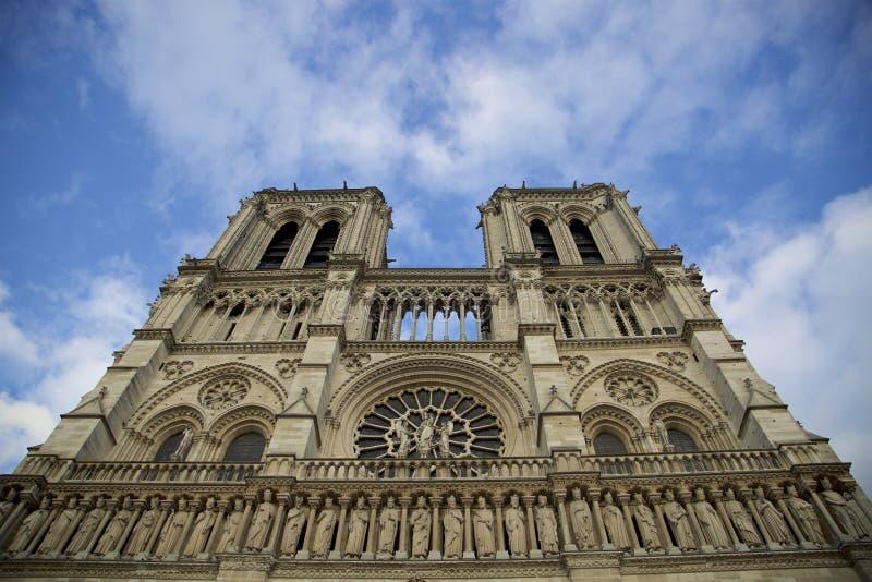 Notre Dame de Paris fotos de archivo