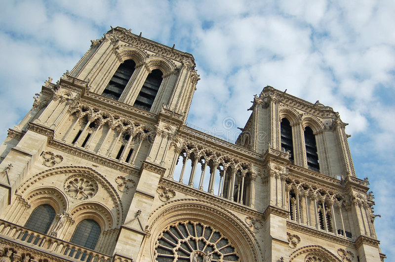 Download Notre-Dame De Paris stock image. Image of famous, building - 7805927