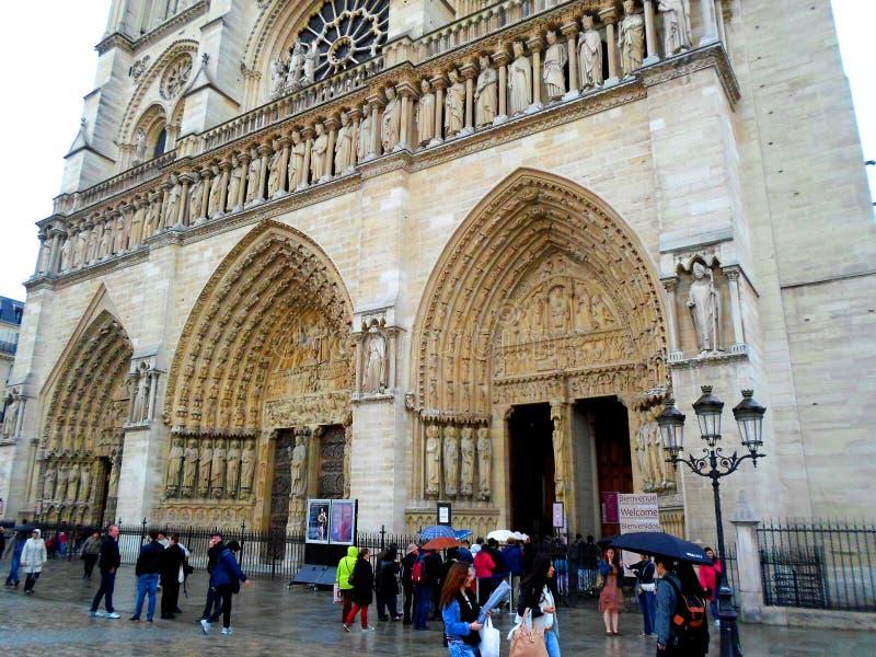 Notre-Dame de Paris photo stock