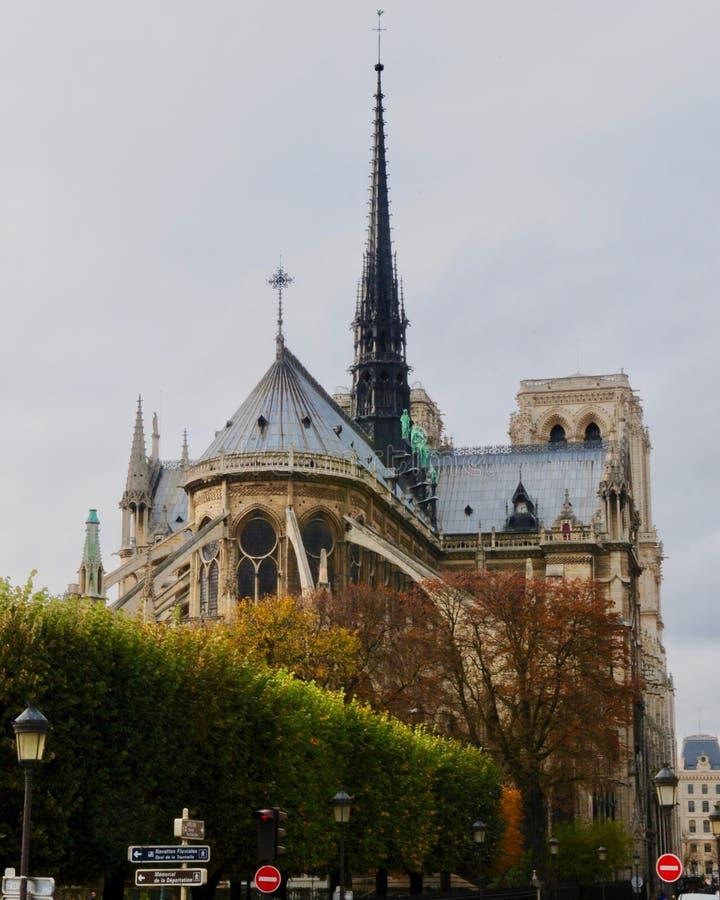 Notre-Dame de Paris de Cathédrale imagen de archivo