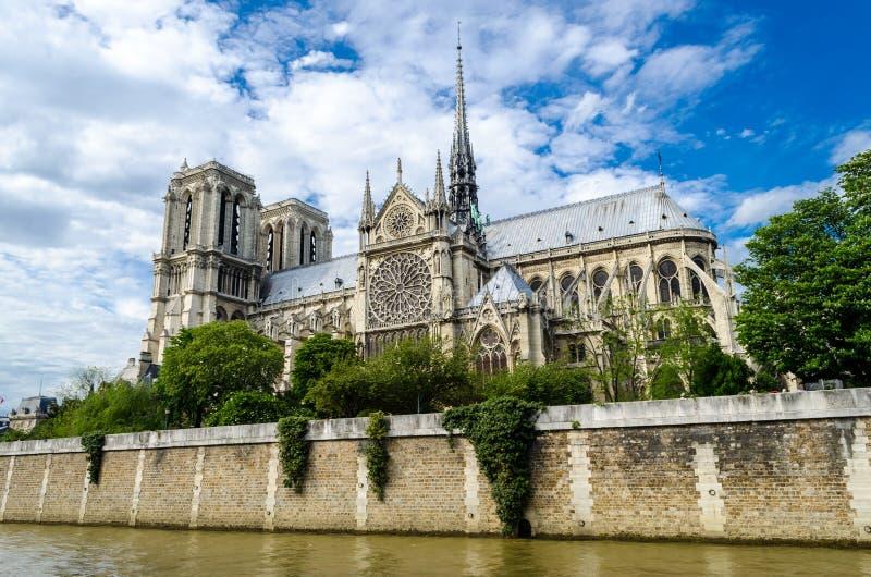 Notre Dame de Paris Cathedral lizenzfreie stockbilder