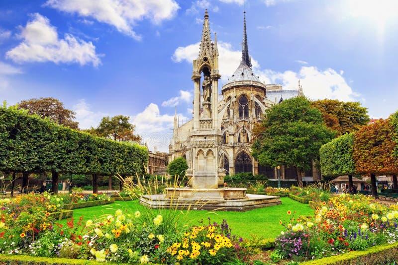 Notre Dame de Paris Cathedral royalty-vrije stock fotografie