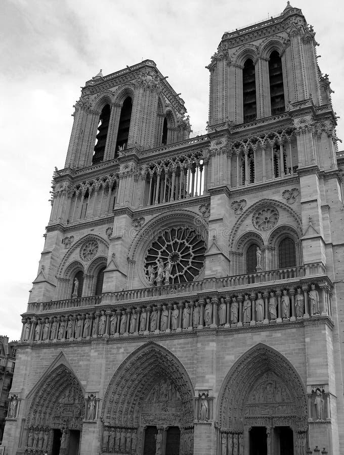 Notre Dame de Paris, França foto de stock royalty free