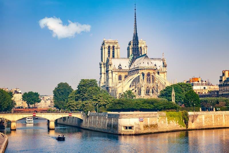 Notre Dame de Paris, Fran?a imagem de stock royalty free