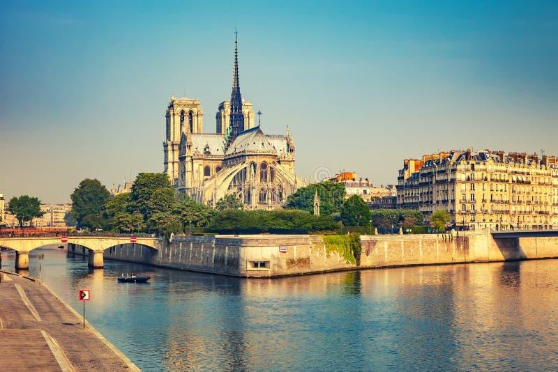 Notre Dame de Paris, Fran?a imagem de stock