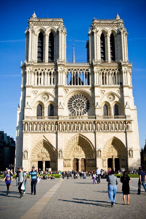 Notre Dame de Paris. France fotografia de stock royalty free