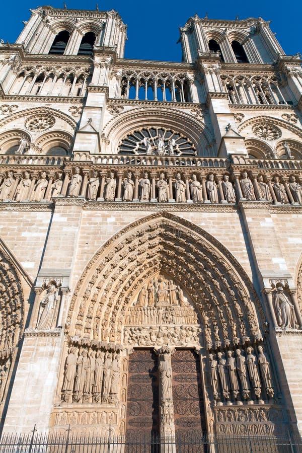 Notre Dame de Paris, France stock photography