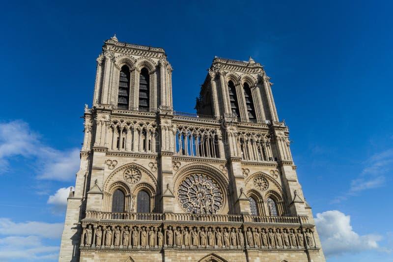 Notre-Dame de Paris stockfoto