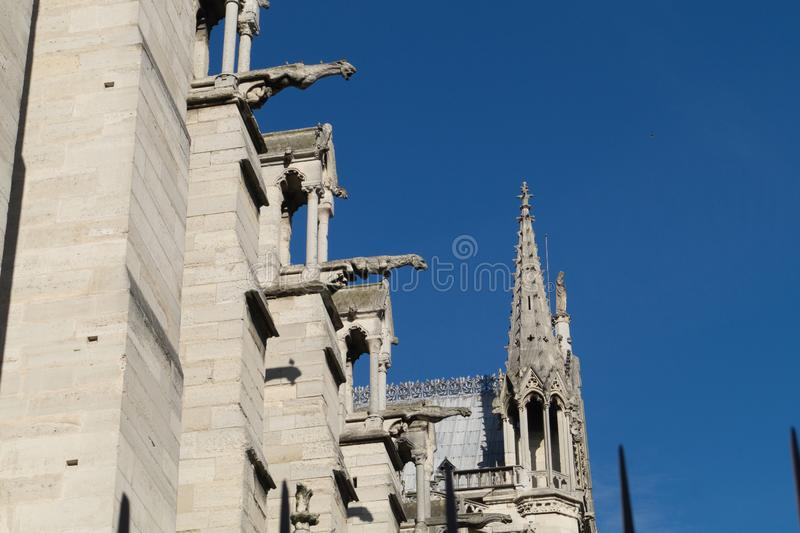 Notre-Dame de Paris stockfotografie