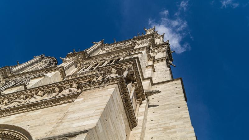 Notre-Dame de Paris stockbilder