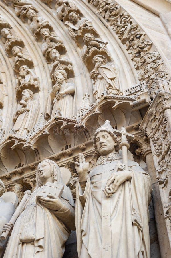Notre-Dame de Paris stock foto's