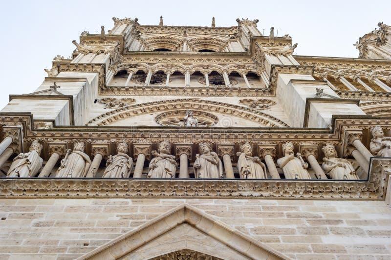 Notre-Dame de Paris royalty-vrije stock afbeeldingen