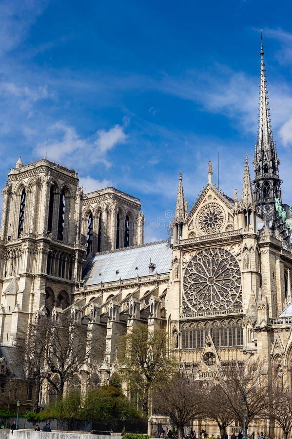 Notre-Dame de Paris royalty-vrije stock afbeelding