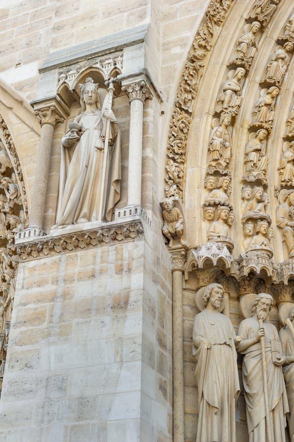 Notre-Dame de Paris immagini stock