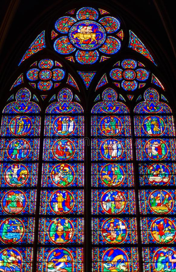 Notre-Dame de Paris fotografia stock libera da diritti