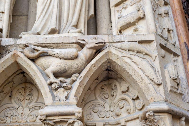 Notre-Dame de Paris immagine stock libera da diritti