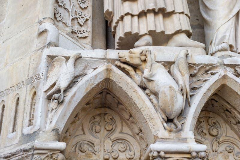 Notre-Dame de Paris immagine stock