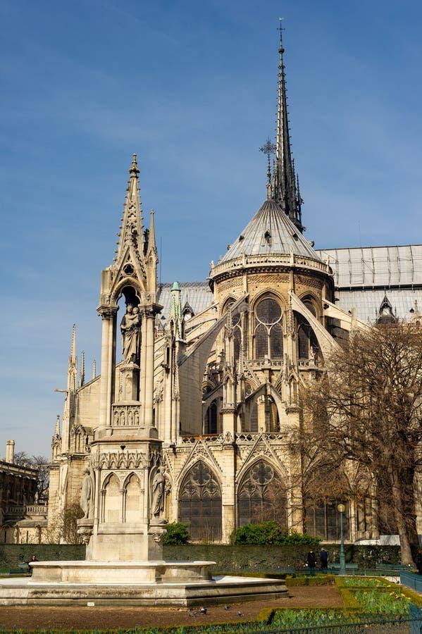 Notre-Dame de Paris fotografia stock