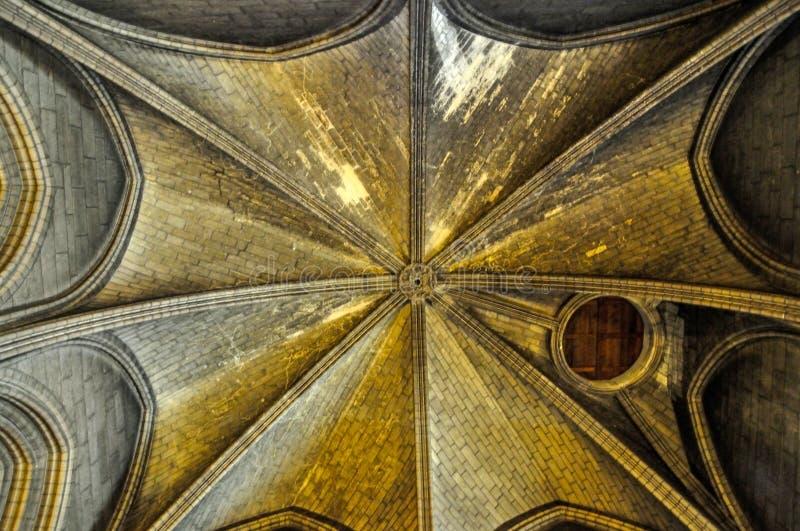 Notre-Dame de Paris in May, 2014 stock image