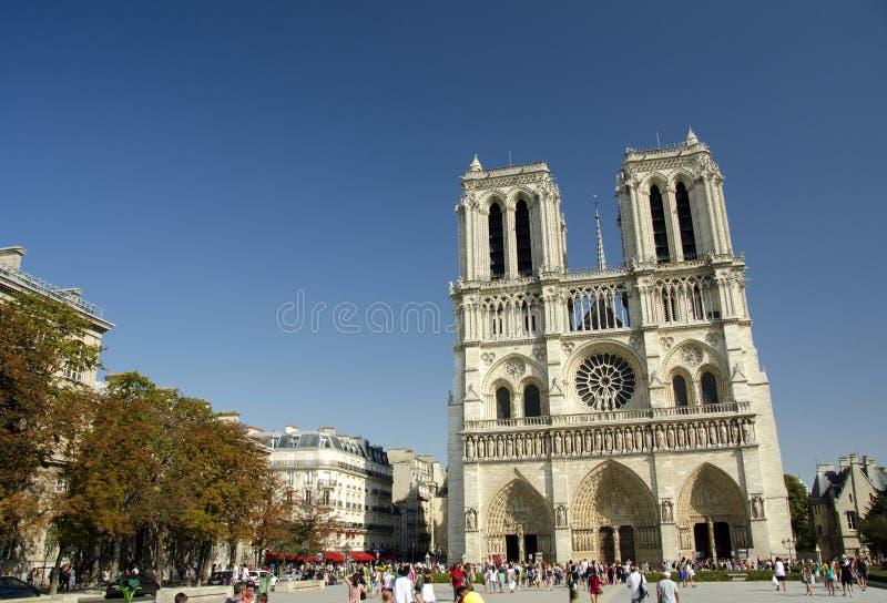 Notre Dame de Paris, Paris, France. Notre Dame de Paris (IPA: [nɔtʁ dam də paʁi]; French for Our Lady of Paris), also known as Notre Dame Cathedral stock image