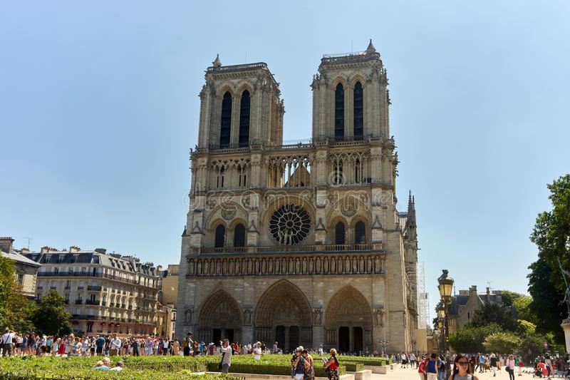 Notre Dame photographie stock