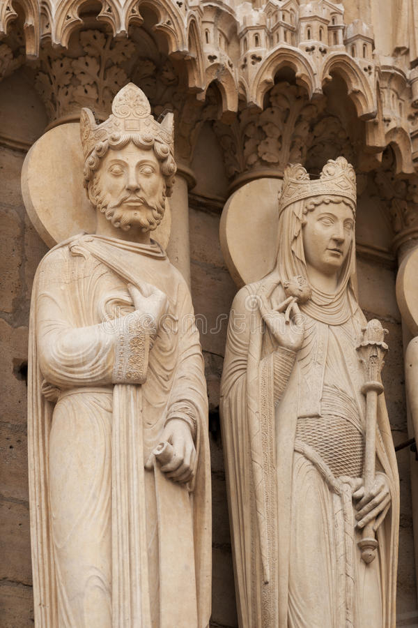Notre Dame de Parisdetail lizenzfreies stockbild