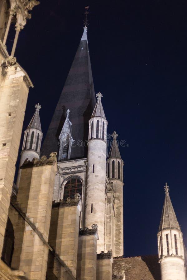 Notre Dame, Digione, Francia fotografie stock libere da diritti