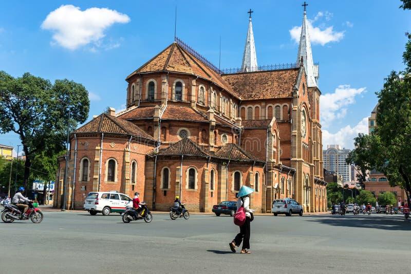 Notre Dame domkyrka royaltyfri foto
