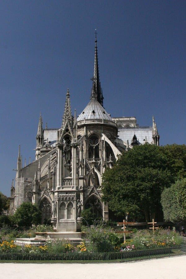 Notre Dame domkyrka arkivbild