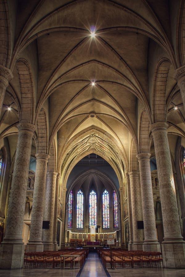 Notre-Dame domkyrka, Luxembourg, inom fotografering för bildbyråer