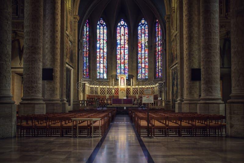 Notre-Dame domkyrka, Luxembourg, inom arkivfoton