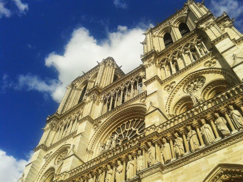 Notre-Dame domkyrka, Paris arkivfoton