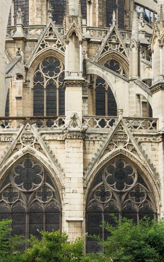 Notre Dame fragment royaltyfri bild