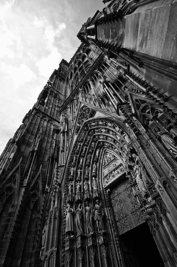 Notre Dame Frankrijk stock foto
