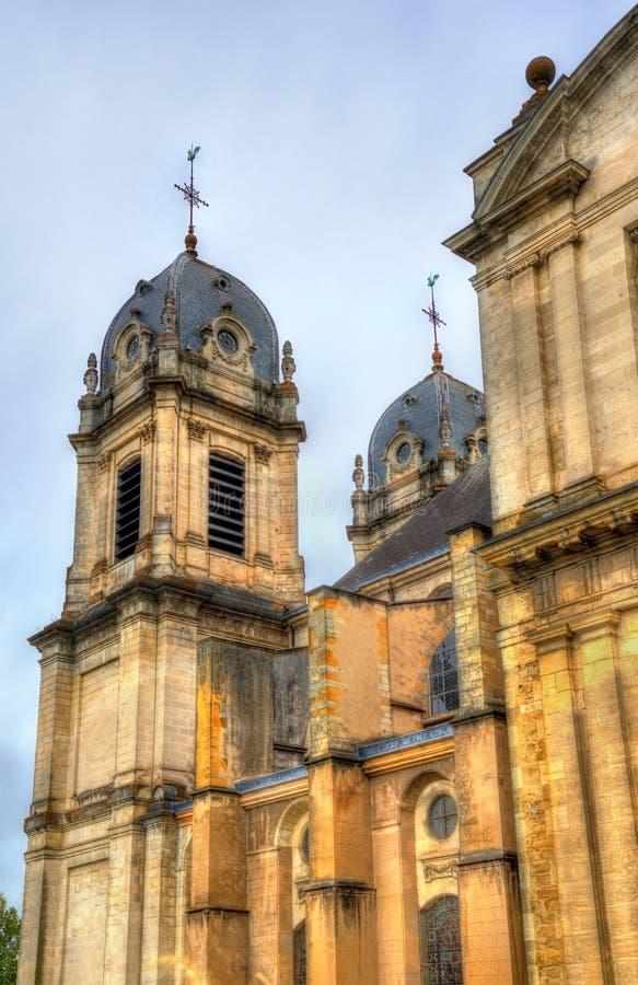 Notre-Dame-Kathedraal van Dax, Frankrijk stock fotografie