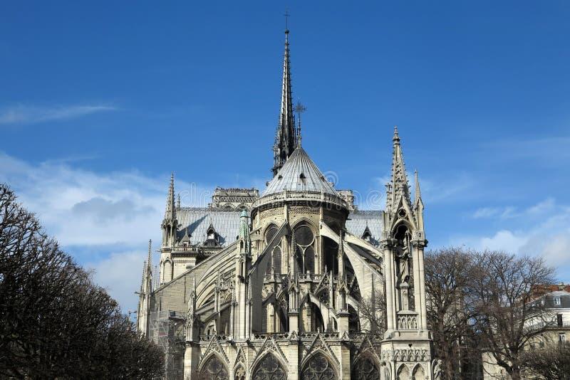 Notre Dame Paris stockfotos