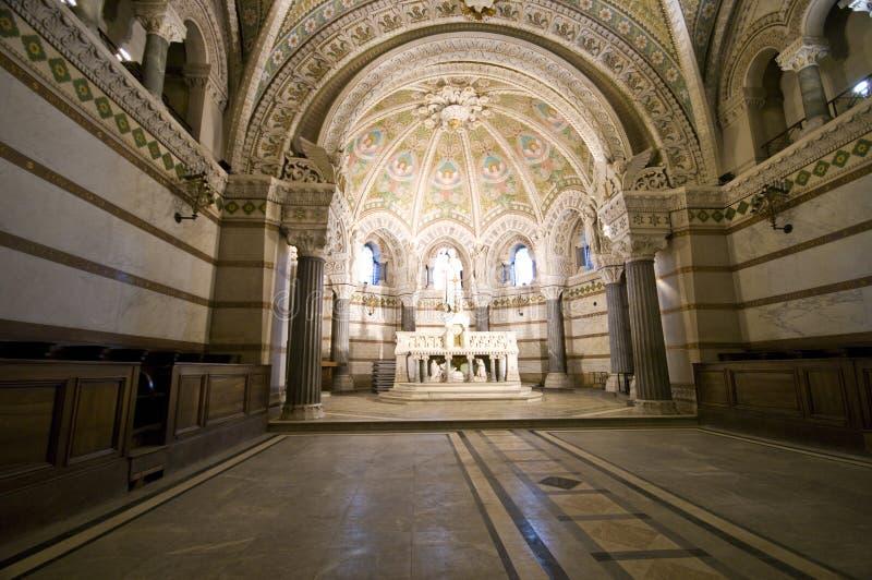 Notre Dame Lyon lizenzfreies stockfoto