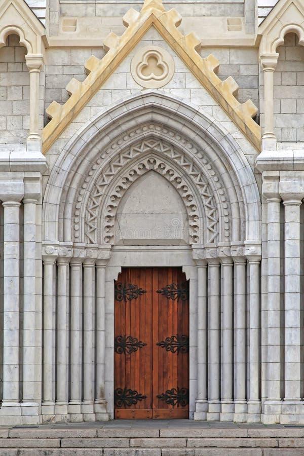 Notre Dame Nice royaltyfri fotografi
