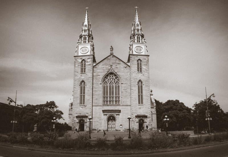 Notre-Dame, Ottawa du centre, Ontario, Canada photographie stock