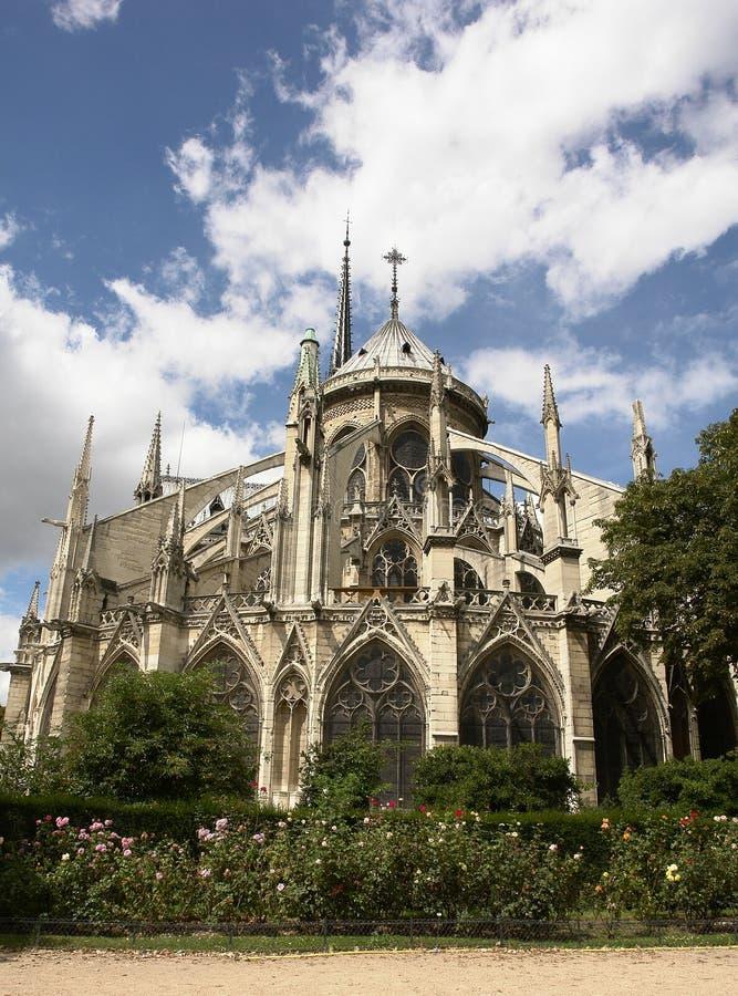 Notre Dame, Parigi immagine stock
