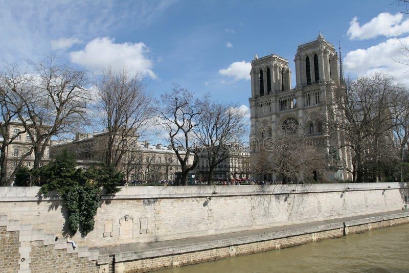 Notre Dame a Parigi fotografia stock