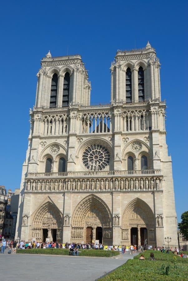 Notre Dame, Parijs royalty-vrije stock foto