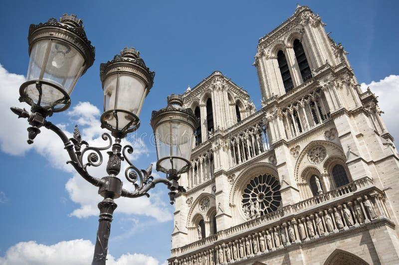 Notre Dame Paris imagem de stock