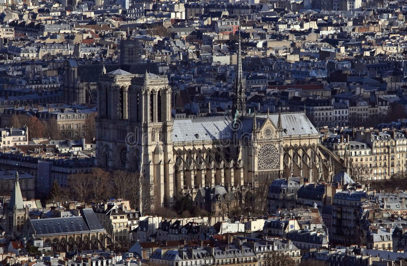 Download Notre Dame in Paris stock photo. Image of church, city - 22602014