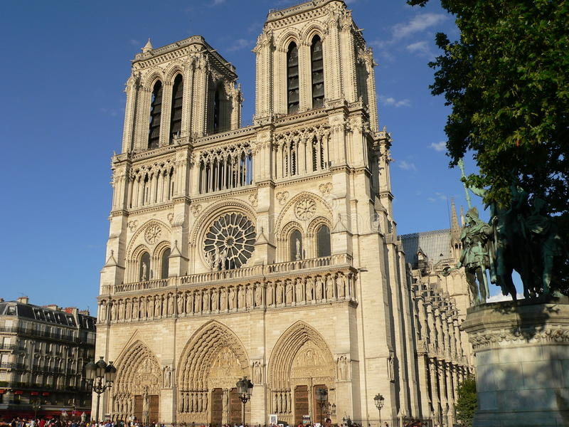 Download Notre Dame, Paris (France) stock photo. Image of green - 21916792