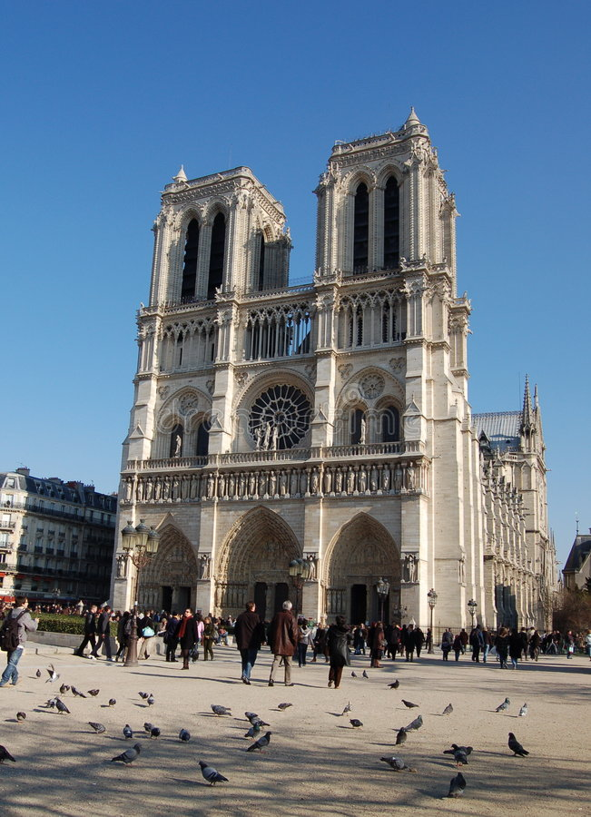 Download Notre-Dame Of Paris, France Royalty Free Stock Image - Image: 7715906