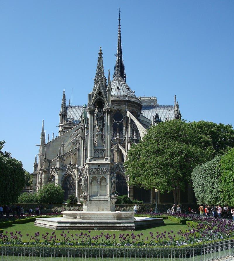 Notre Dame in Paris, Francew lizenzfreie stockbilder